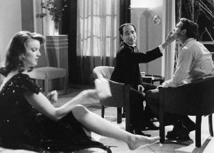 As Edmund Alcott with Marcia Cross and Patrick Kilpatrick in Tales From the Dark Side - Strange Love
