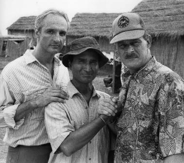 As Ha Doi with Michael Gross and Gerald McRaney in Vestige of Honor